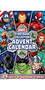 Marvel Advent 2021 Cover