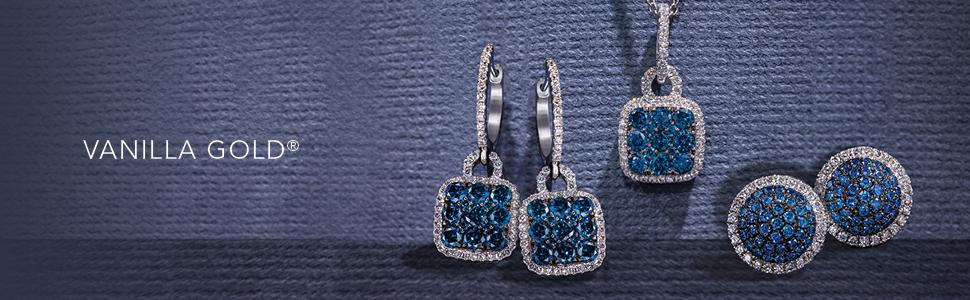 Le Vian exclusive European designer jewelry haute custom expensive look white gold platinum 10K 14K