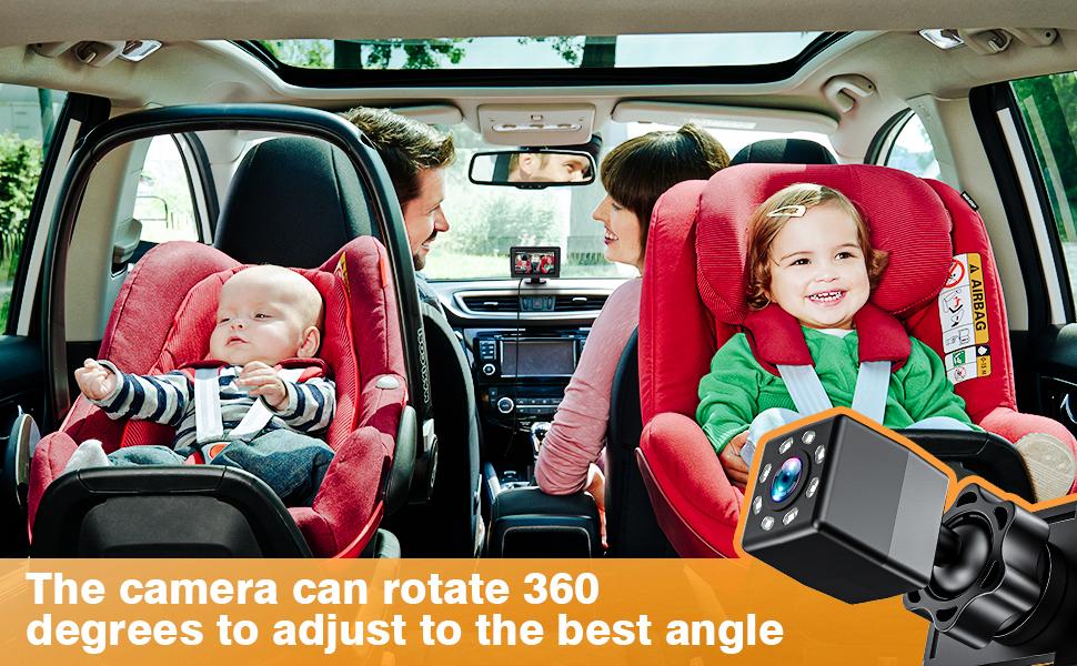 car mirror baby rear facing seat