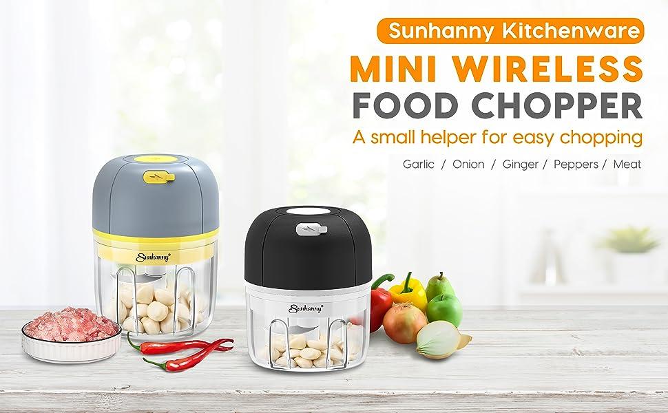 Sunhanny mini wireless food chopper