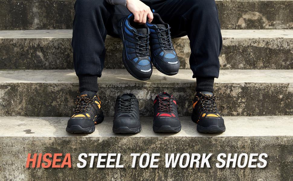 steel toe work shoes