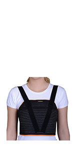 Chest Support Brace to Stabilize the Thorax