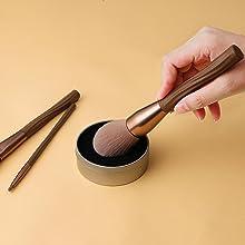 vegan makeup brush kit