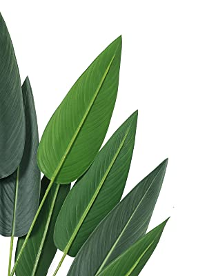 artificial bird of paradise plant fake plants faux palm plants tropical palm tree