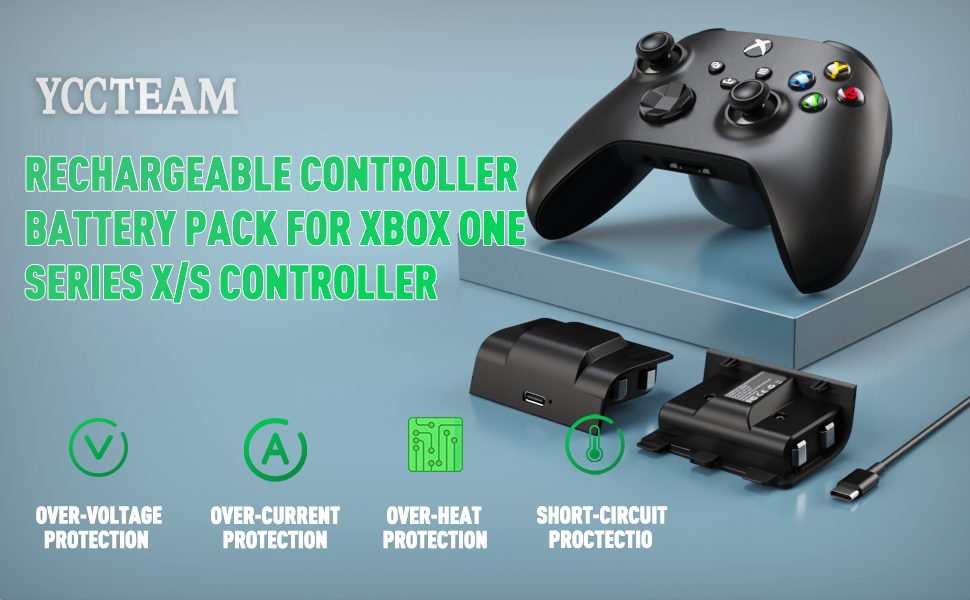 Rechargeable Controller Battery Pack