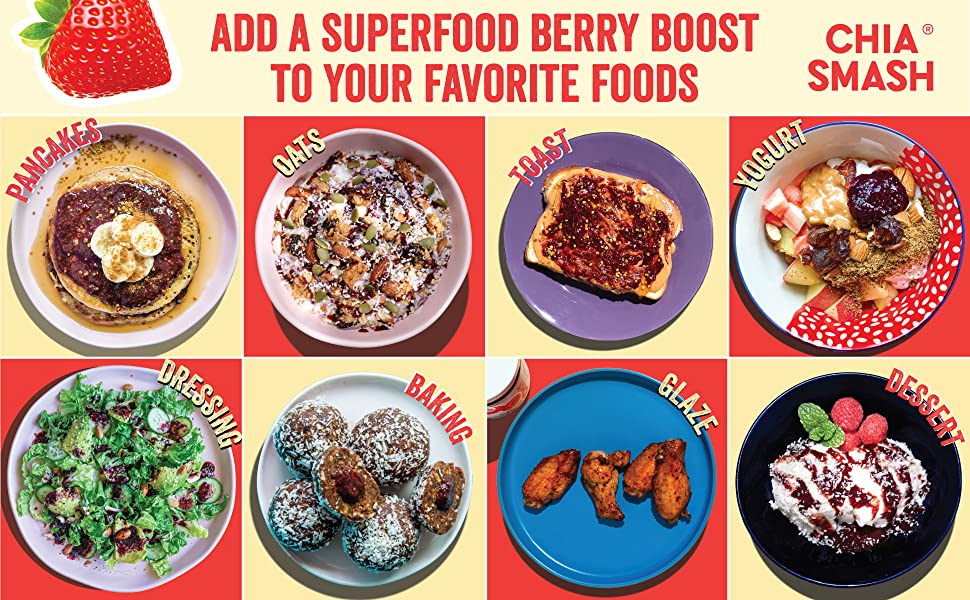 Add a superfood berry boost to your favorite foods