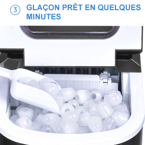 fabrication de glacons rapide
