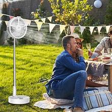 Fan for outdoor
