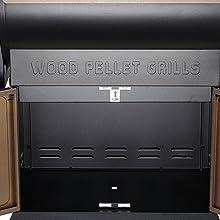 wood pellet grill ZPG-700D