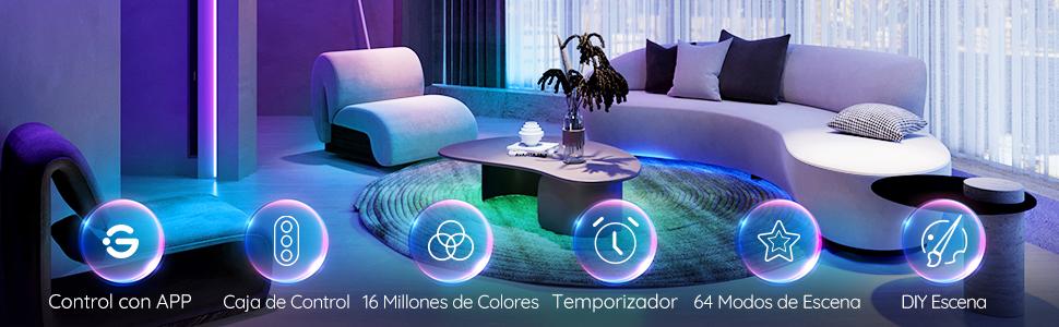 Govee luces led habitacion