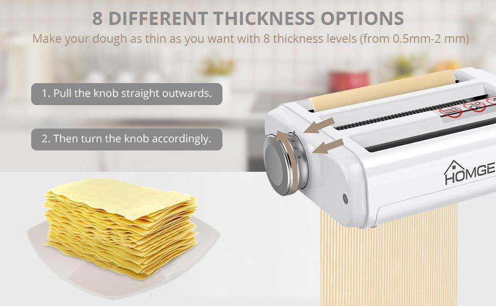 Pasta Maker Attachment for Kitchenaid