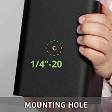 Kanto YUP4 bottom mounted threaded hole