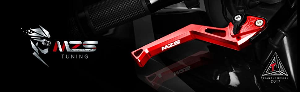 MZS Motorcycle Levers