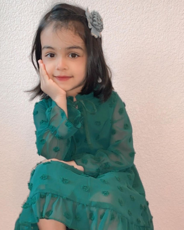 little kids swiss dot dress