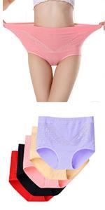 Women's Cotton Underwear Briefs Sexy lace