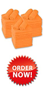 Large Microfiber Cleaning Towels 36-Pack