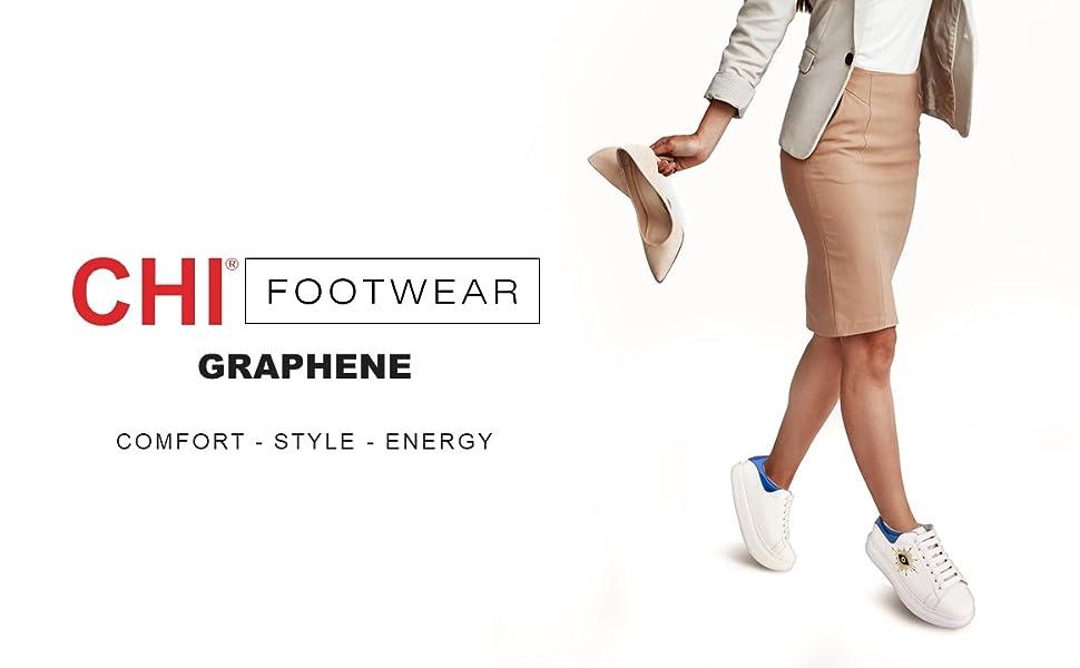 chi, footwear, shoes, graphene