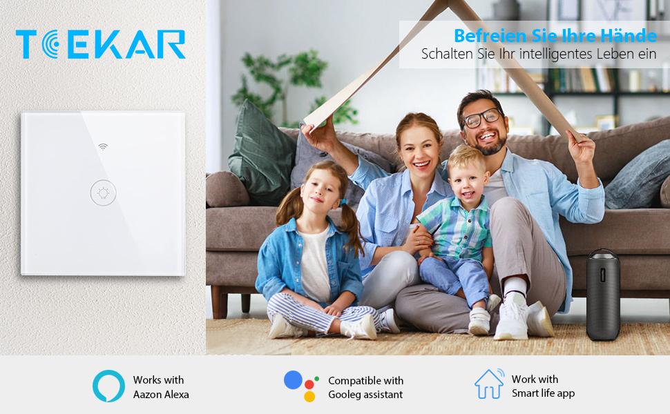 Smart Alexa Lichtschalter Kein Neutralleiter Erforderlich