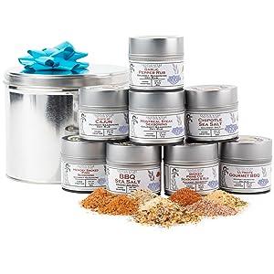 BBQ Bucket amp; Pit Master Gift Set | Gourmet Seasonings | Spice Blends