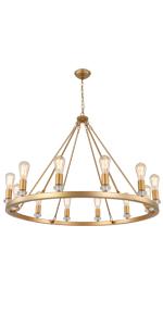 gold chandelier