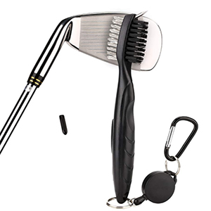 Retractable Club Groove Cleaner Brush