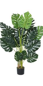 Artificial monstera deliciosa plant faux monstera palm tree fake monstera for home decor