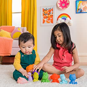 fun play time with siblings