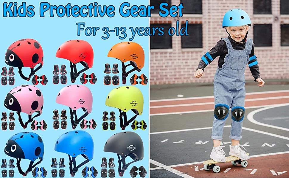 Kids Boys and Girls Protective Gear Set (S/M)