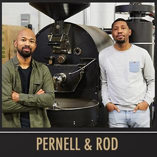 Pernell amp; Rod, founders of BLK amp; Bold, cafe,