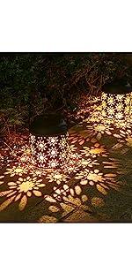 Tomshine Solar lights outdoor