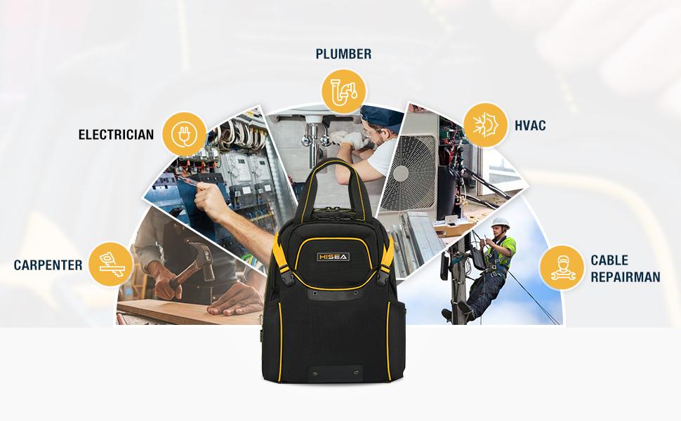 Tool Organizer amp; Storage backpack