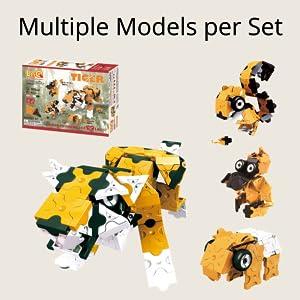 Multiple models per set