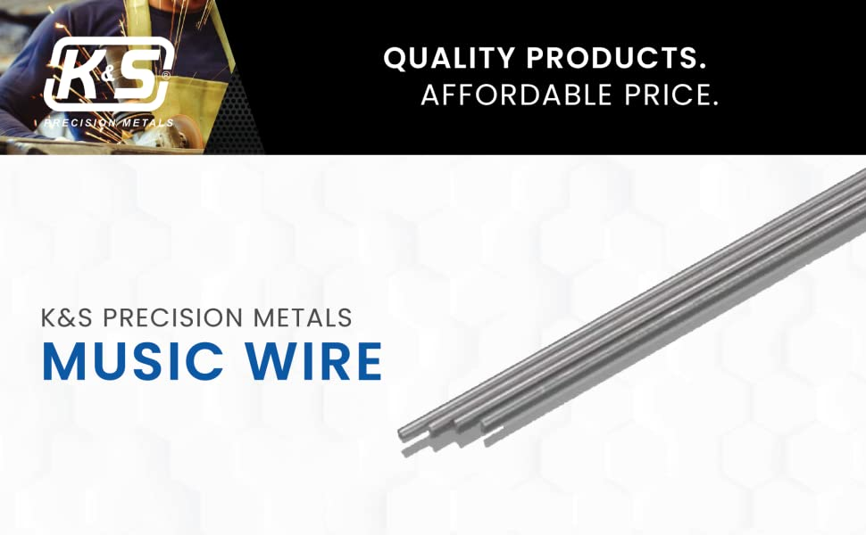 Kamp;S Precision Metals Music Wire