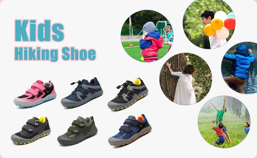 kids trekking shoes