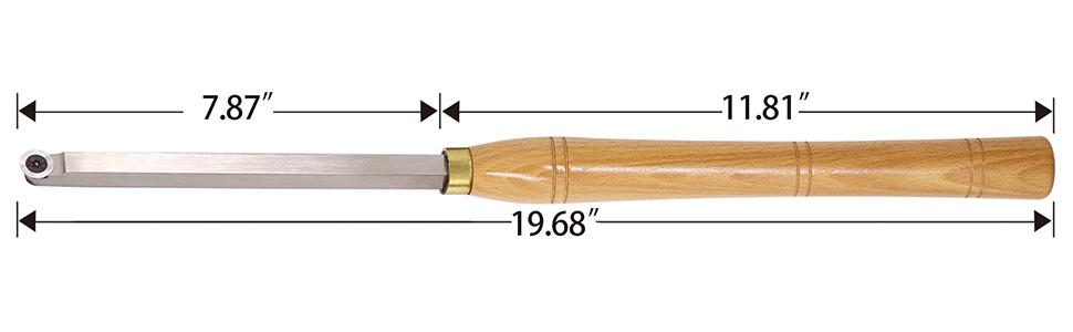 Carbide Tipped Finisher Wood Turning tool