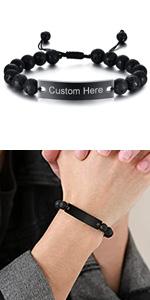 personalized bead bracelet