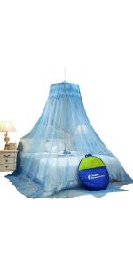 hanging mosquito net
