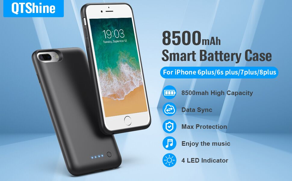 iphone 8 plus battery case