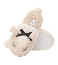 jessica simpson girls lamb slip on slipper