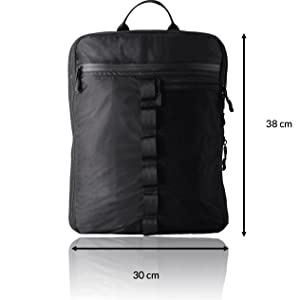 Backpack packing cubes