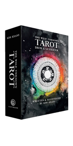 Wild unknown tarot deck and guide book