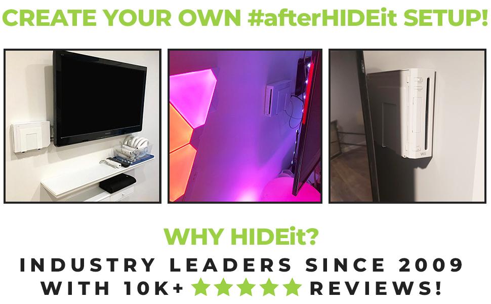 HIDEit Mounts Customer Setups. Search #afterHIDEit for more setup inspiration