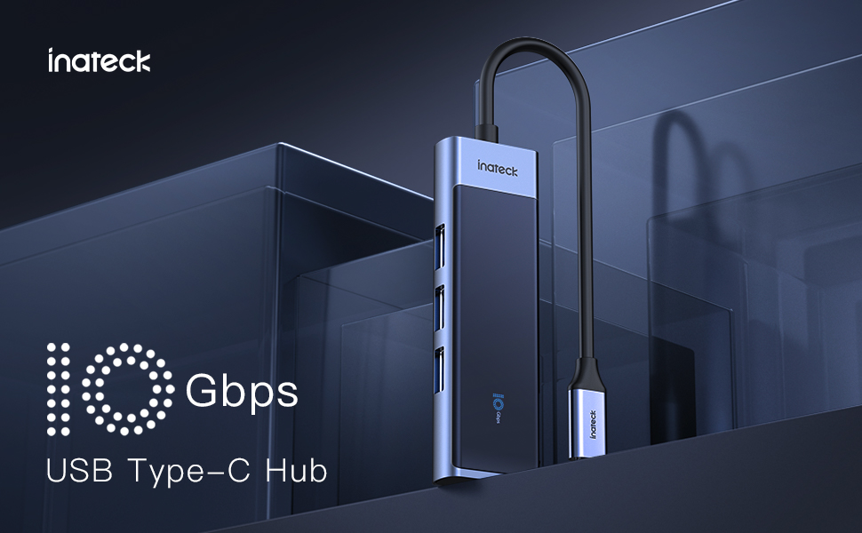 Inateck 5 in 1 10Gbps USB C Hub