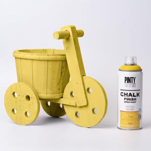 Pintyplus Chalk Finish Spray Paint Yellow Mustard