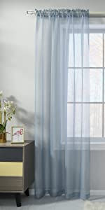 Voile Sheer Curtains