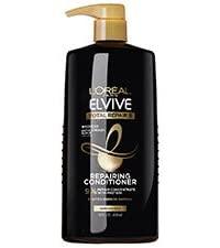 bottle of elvive tr5 conditioner