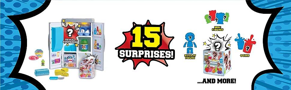 Ryan's World Fridge Surprise - 15 surprises