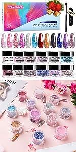 wakaniya Dip Powder Colors Set