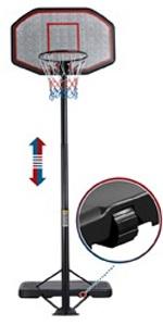 9-12ft Adjustable Height Basketball Hoop System