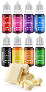 food coloring for chocolate candy oil based